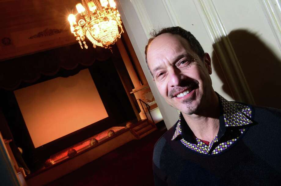 Lyric Hall owner John Cavaliere in his theater in the Westville section of New Haven. Photo: Arnold Gold / Hearst Connecticut Media / New Haven Register
