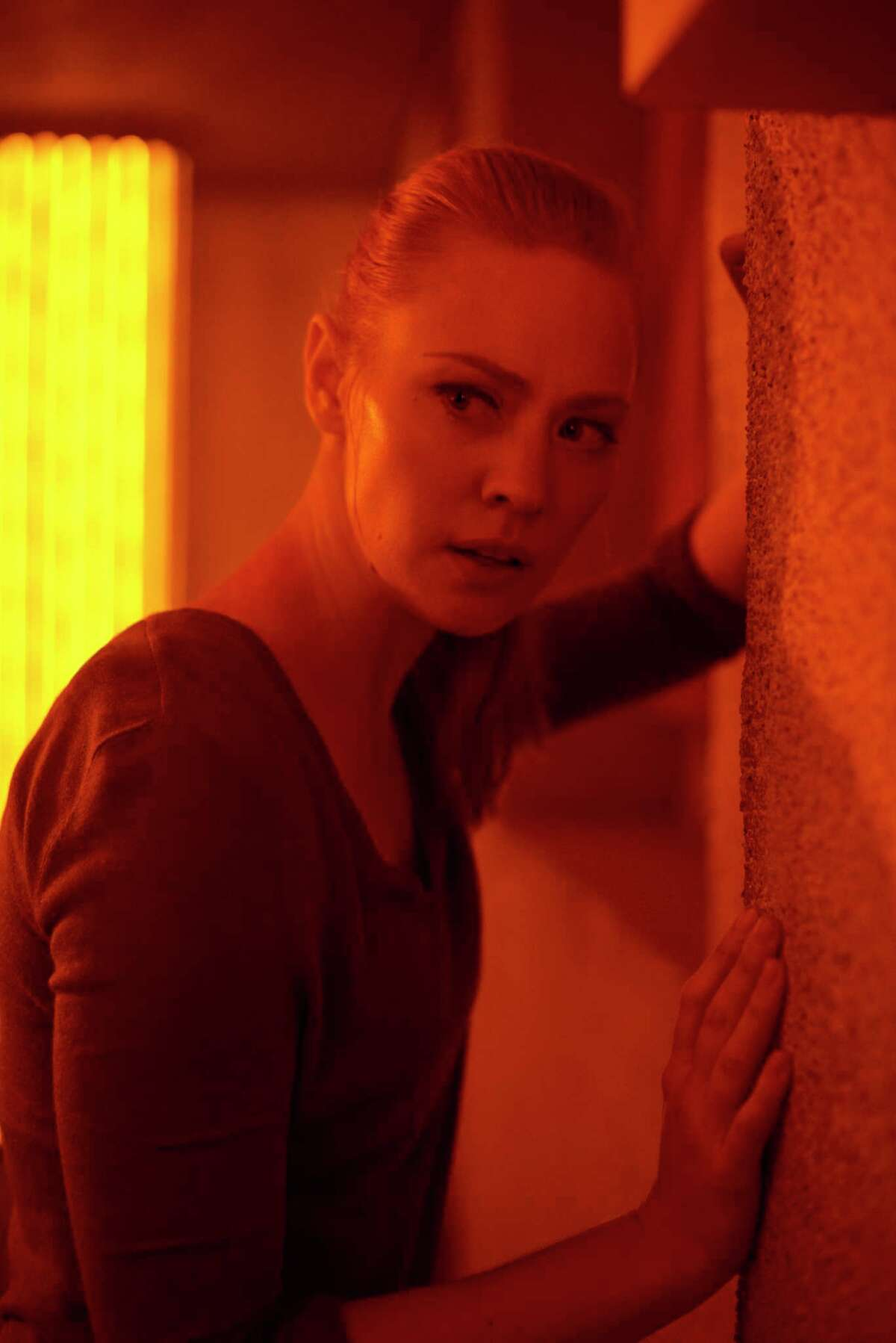 This image released by Sony Pictures shows Deborah Ann Woll in