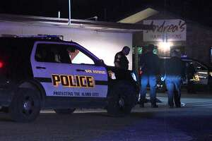 San Antonio police said one man was hospitalized after being shot in the leg Friday Jan. 4, 2019. The shooter fled and remains at large.
