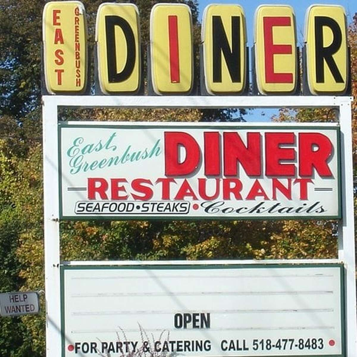 The East Greenbush Diner on the Columbia Turnpike in East Greenbush.