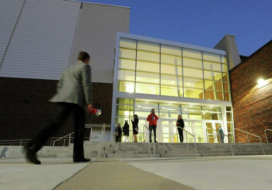 """Opening night for the first student concert of Greenwich High School's new """"MISA"""" auditorium at the school in Greenwich, Conn., Wednesday, Oct. 7, 2015. Photo: File / Hearst Connecticut Media / Greenwich Time"""