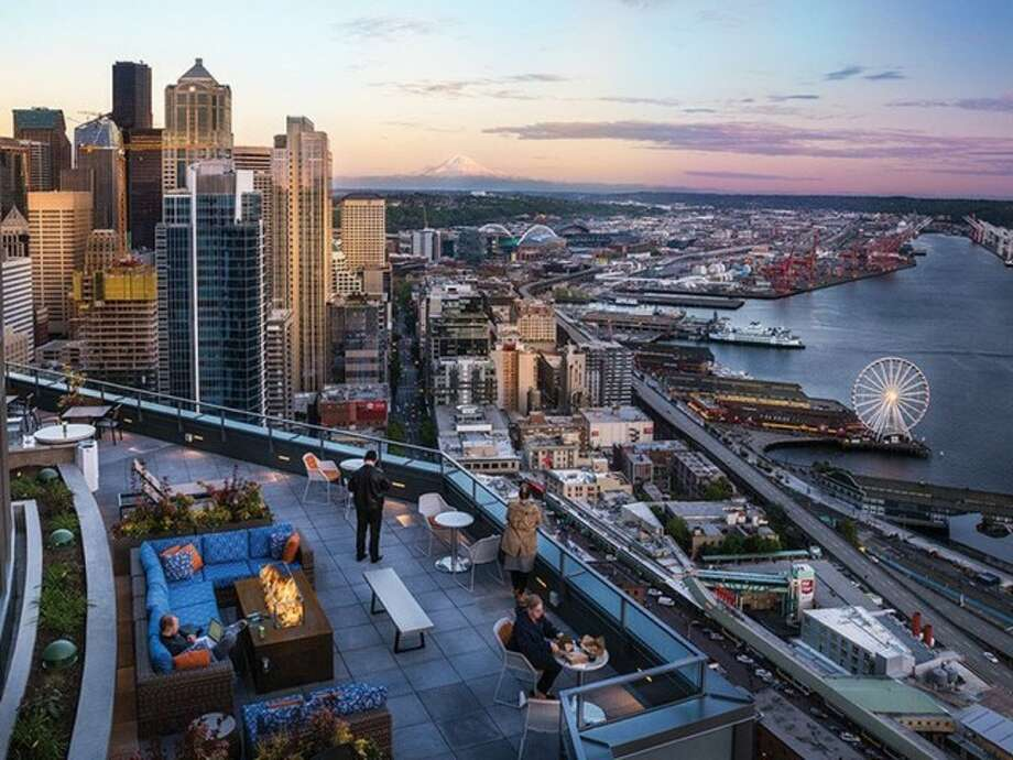 If you can afford $11,000 a month, you can rent this penthouse in Seattle-- the most expensive rental available now. Photo: Tower 12.com