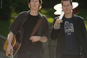 """The Guthrie Brothers present """"Scarborough Fair, a Simon and Garfunkel Experience,"""" at Bridgeport's Downtown Cabaret Theatre on Jan. 19."""