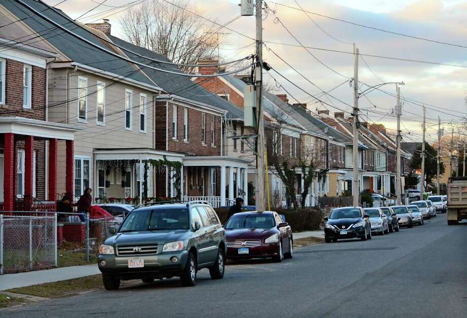 A view of Willow Street in Bridgeport, Conn., on Thursday Jan. 3, 2019. Twelve year-old Clinton Howell was killed in an apparent drive-by shooting on Dec. 18th in front of his house. Photo: Christian Abraham / Hearst Connecticut Media / Connecticut Post