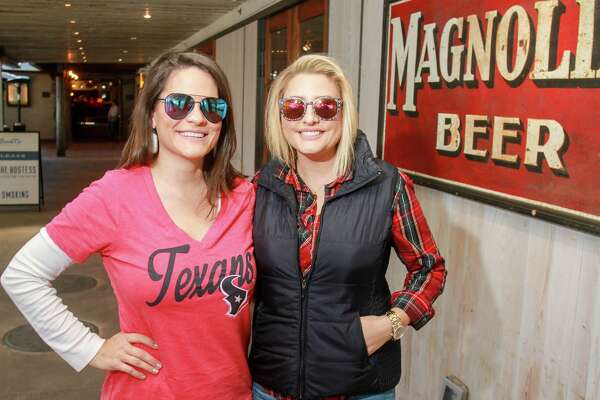 Goode Co. Armadillo Palace's Brats & Brews event served as a Kick Off to the Texans' NFL Playoff game.
