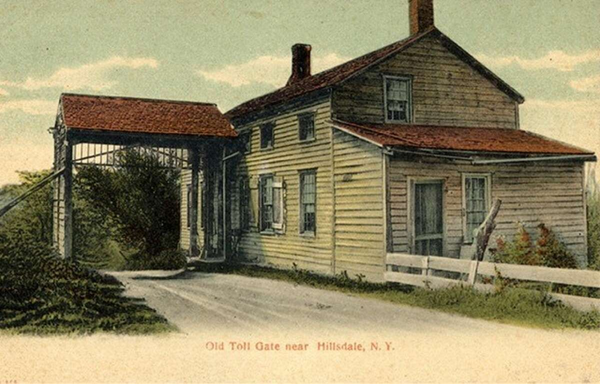 A rendering of the East Gate Toll House on the Columbia Turnpike. It will be part of a talk about the Columbia Turnpike.