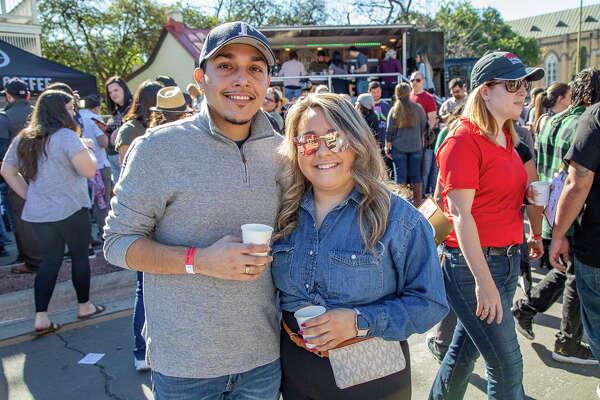 Coffee lovers got their caffeine fix on Saturday at the San Antonio Coffee Festival in downtown San Antonio.