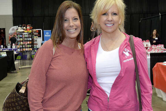 Becky LeDoux and Susan Bailey were at the Southeast Texas Health & Fitness Expo 2019 at the Civic Center. The event continues Sunday 11 a.m. - 3 p.m. Photo taken Saturday, January 5, 2019 Photo by Kim Brent/The Enterprise