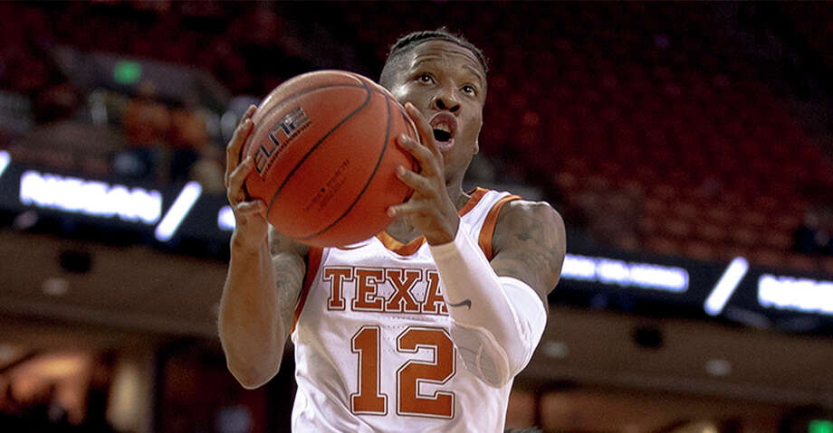 Texas guard Kerwin Roach II (12) tries for a layup during an NCAA college basketball game against Virginia Commonwealth in Austin, Texas, on Wednesday, Dec. 5, 2018. (Nick Wagner/Austin American-Statesman via AP) Photo: Nick Wagner/Associated Press