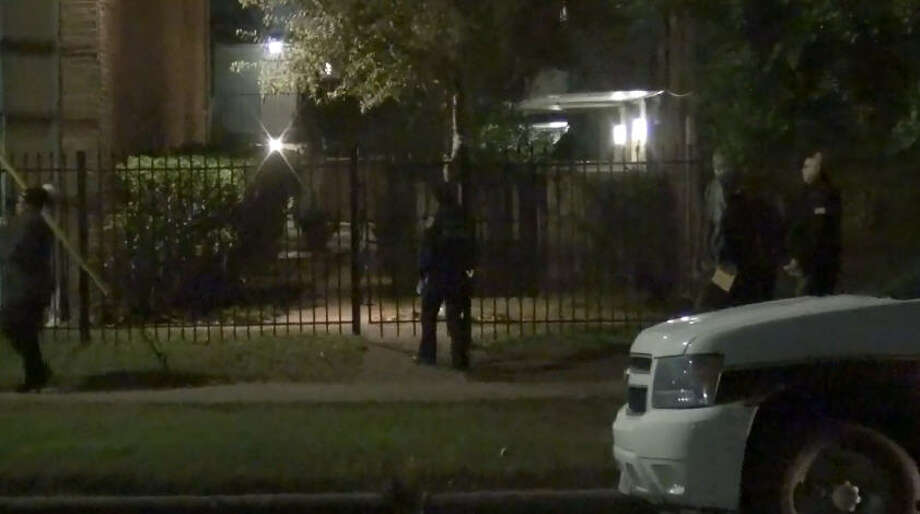 Two elderly men believed to be homeless were shot at a Gulfton-area apartment complex. Photo: Metro Video