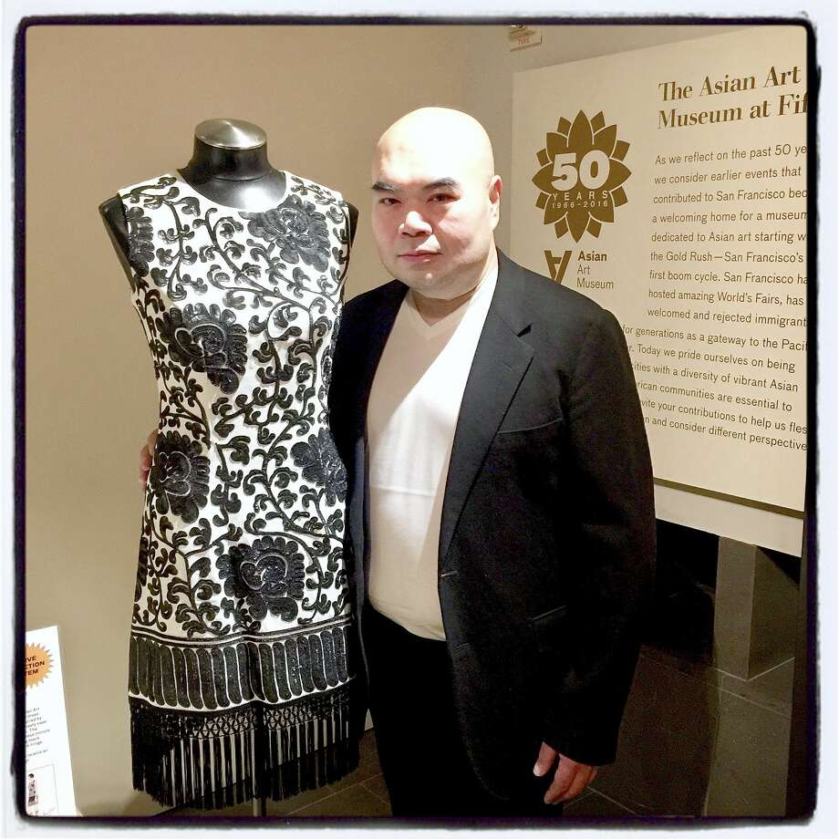 Fashion designer Andrew Gn will, once again, create a couture garment for the March 7 Asian Art Museum gala auction. Photo: Catherine Bigelow / Special To The Chronicle 2016