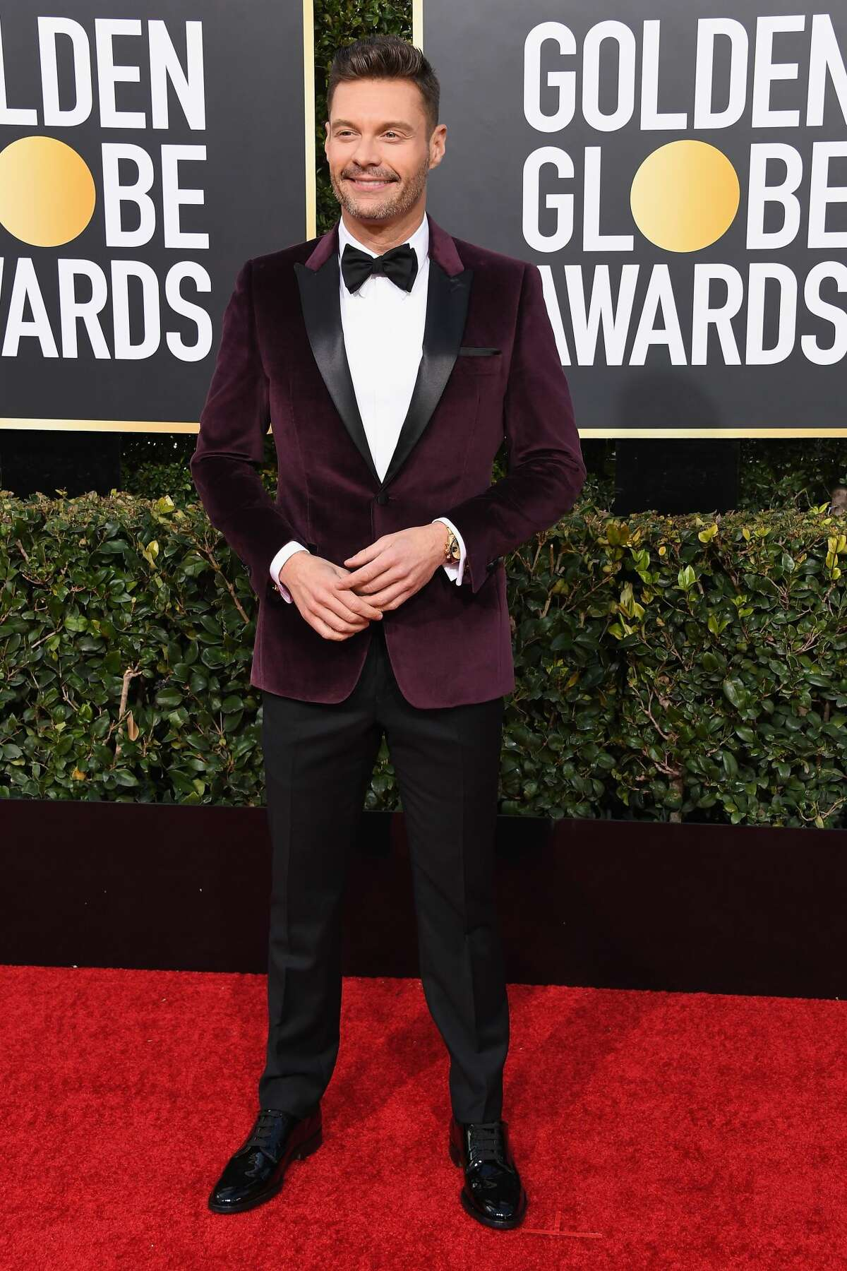Ryan Seacrest attends the 76th Annual Golden Globe Awards at The Beverly Hilton Hotel on January 6, 2019 in Beverly Hills, California. (Photo by Steve Granitz/WireImage)