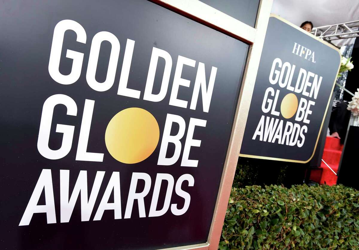 Golden Globes signage appears on the red carpet at the 76th annual Golden Globe Awards at the Beverly Hilton Hotel on Sunday, Jan. 6, 2019, in Beverly Hills, Calif. (Photo by Jordan Strauss/Invision/AP)
