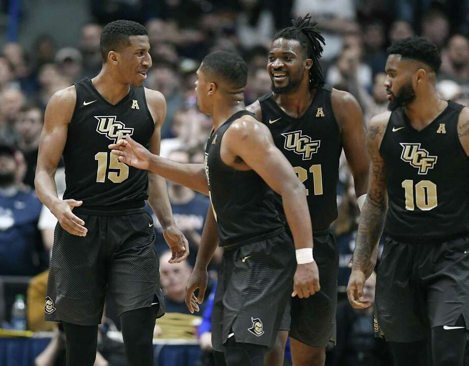 Following Saturday's win over UConn, Central Florida has vaulted into the Top 25 in David Borges' ballot for the Associated Press. Photo: Jessica Hill / Associated Press / Copyright 2019 The Associated Press. All rights reserved
