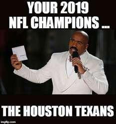 Nfl Memes Mock Texans Playoff Misfortune