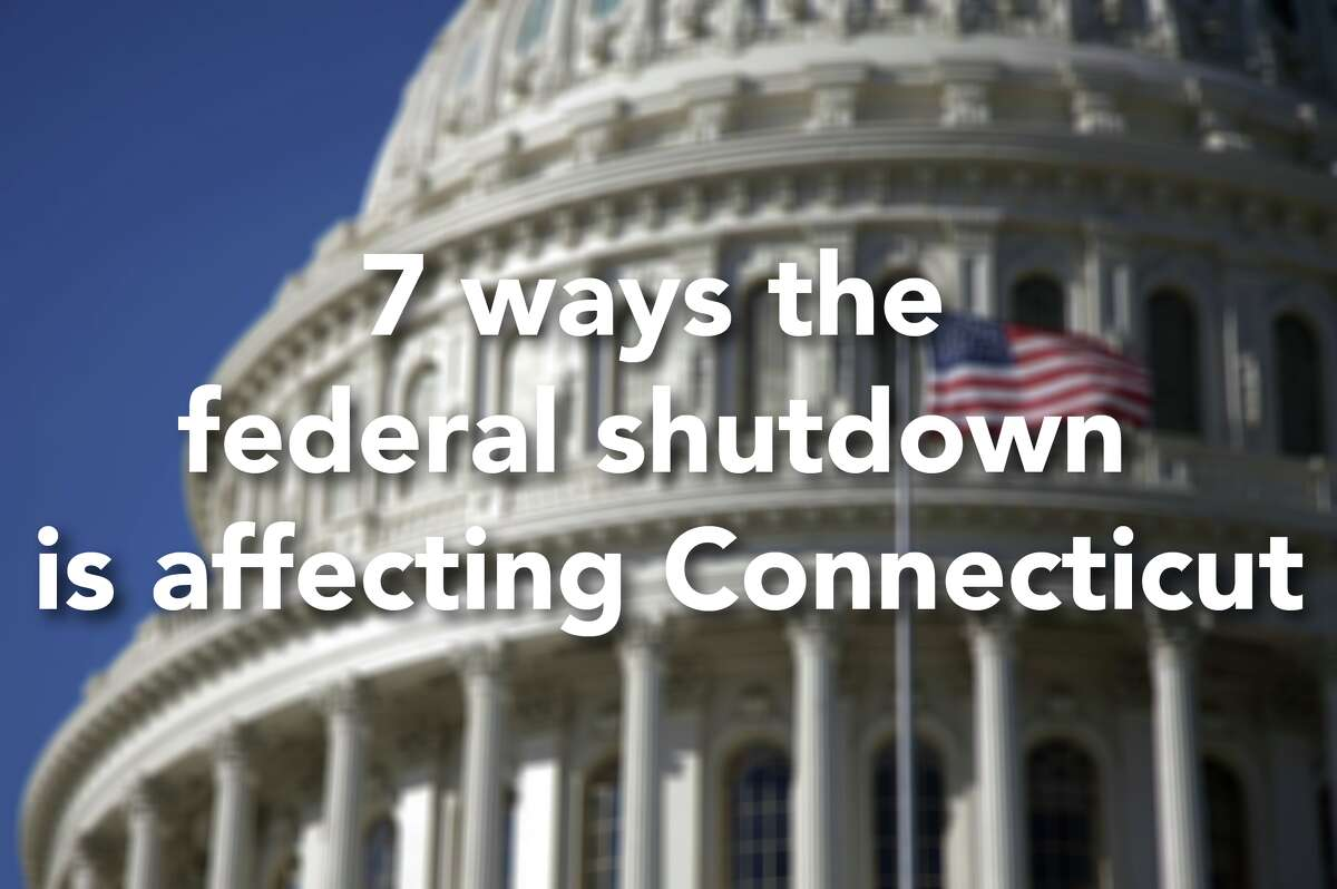 Click through the slideshow to see how the federal shutdown is affecting Connecticut.