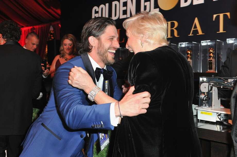 Bradley Cooper and Glenn Close attends the official viewing and after party of The Golden Globe Awards hosted by The Hollywood Foreign Press Association at The Beverly Hilton Hotel on January 6, 2019 in Beverly Hills, California.  (Photo by Rachel Luna/Getty Images) Photo: Rachel Luna, Getty Images