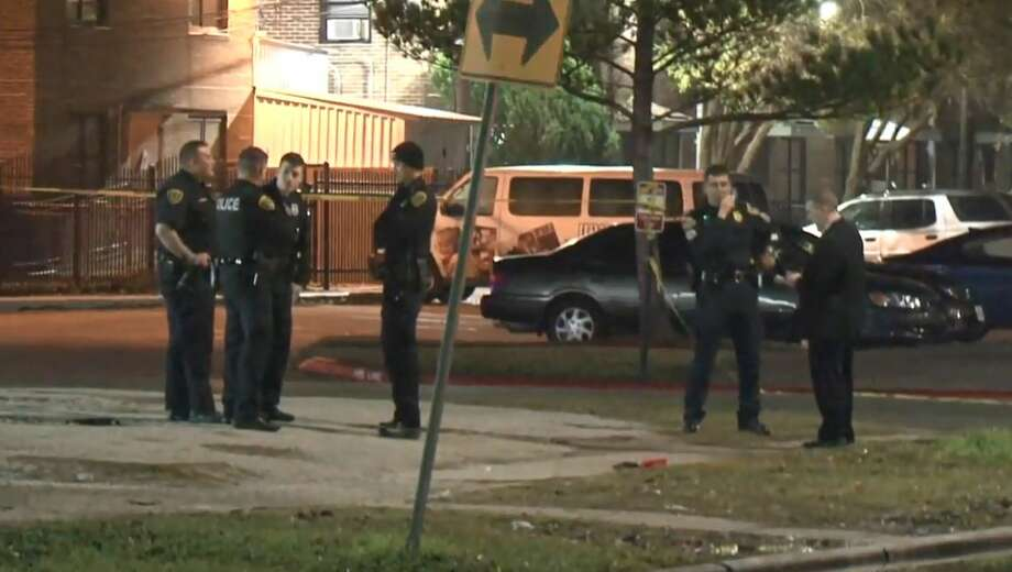 A man was shot and killed at 3247 Truxillo in Houston's Third Ward on Saturday, Jan. 5, 2019. Photo: Metro Video
