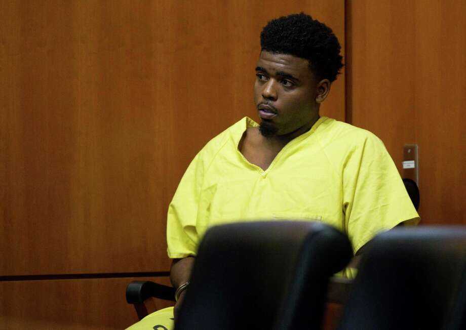 Eric Black Jr. appears for arraignment at the Harris County Criminal Courthouse Monday, Jan. 7, 2019, in Houston. Black Jr. faces capital murder charges in the drive-by shooting of seven-year-old Jazmine Barnes. Photo: Godofredo A. Vasquez, Staff Photographer / 2018 Houston Chronicle
