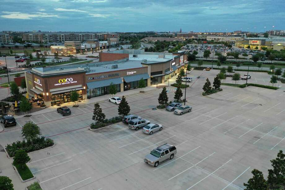 Houston-based Vista Properties is nearing completion on phase two of University Commons. The project, anchored by Sprouts Farmers Market, will add 109,000 square feet of retail space at University Boulevard and Telfair Avenue in Sugar Land. Photo: Arch-Con Construction