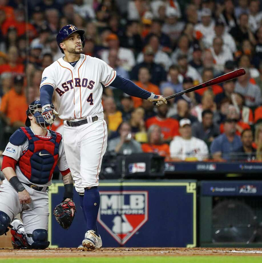 Houston Astro George Springer has been chosen as one of two grand marshals of Houston's Martin Luther King Jr. parade. Photo: Karen Warren, Houston Chronicle / Staff Photographer / © 2018 Houston Chronicle