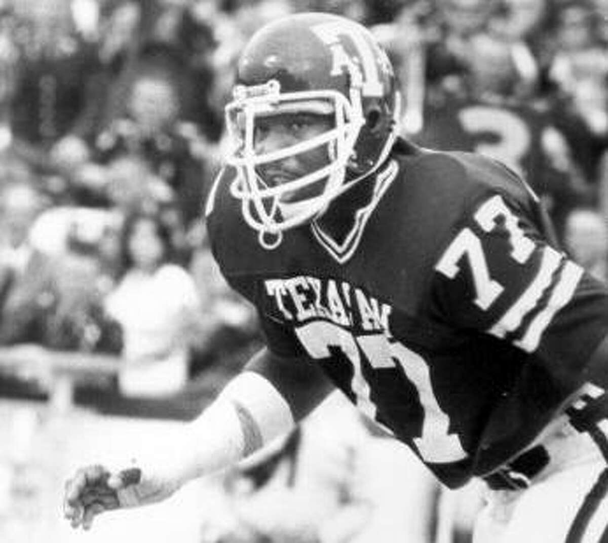 Jacob Green became the 11th Texas A&M player to be inducted into the College Football Hall of Fame.