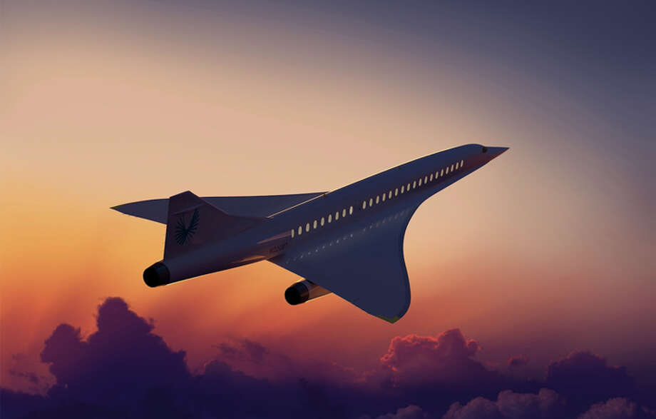 The Overture should fly from San Francisco to Tokyo in about five hours. Photo: Boom Supersonic
