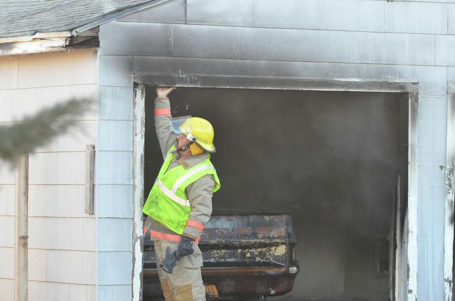 Second fire in three days in Olton is believed to have been set intentionally. Photo: The Olton Enterprise/Courtesy Photo