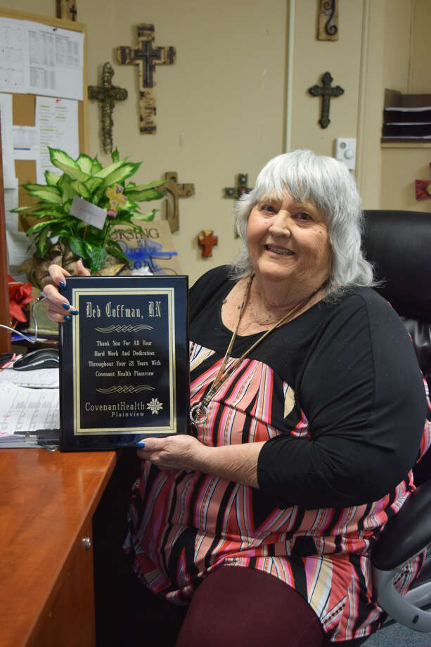 Deb Coffman, RN, closed out a 44-year long nursing career on Friday. Photo: Covenant Health/Courtesy Photo