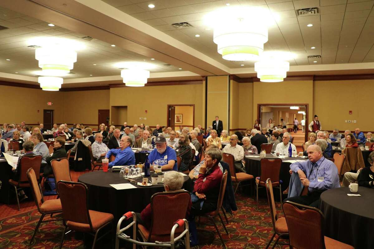 Retired Public Employees Association annual meeting at the Hilton Garden Inn in Troy on Thursday, October 4, 2018. (Provided by RPEA)