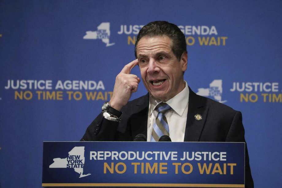 Gov. Andrew Cuomo will deliver his annual budget address on Tuesday in Albany. Photo: Drew Angerer, Getty / 2019 Getty Images