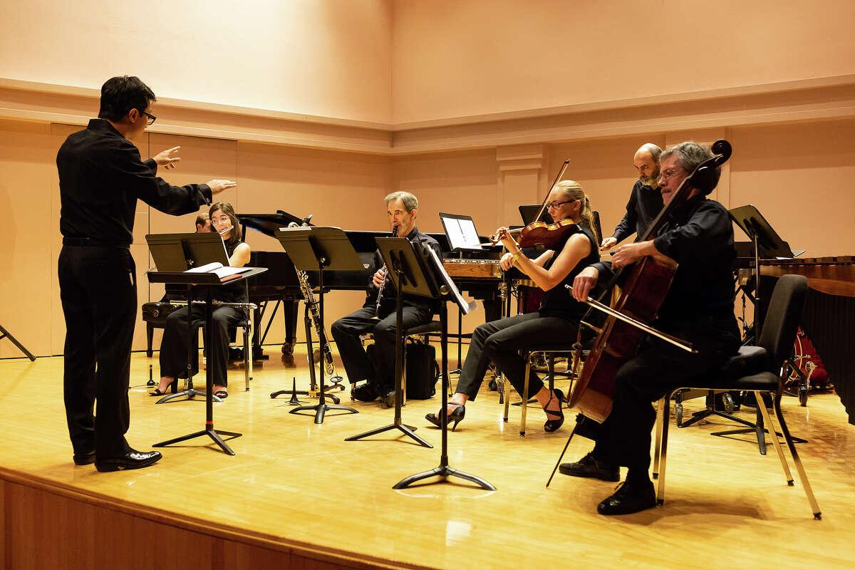 The Houston music group Musiqa. Photo by Lynn Lane.