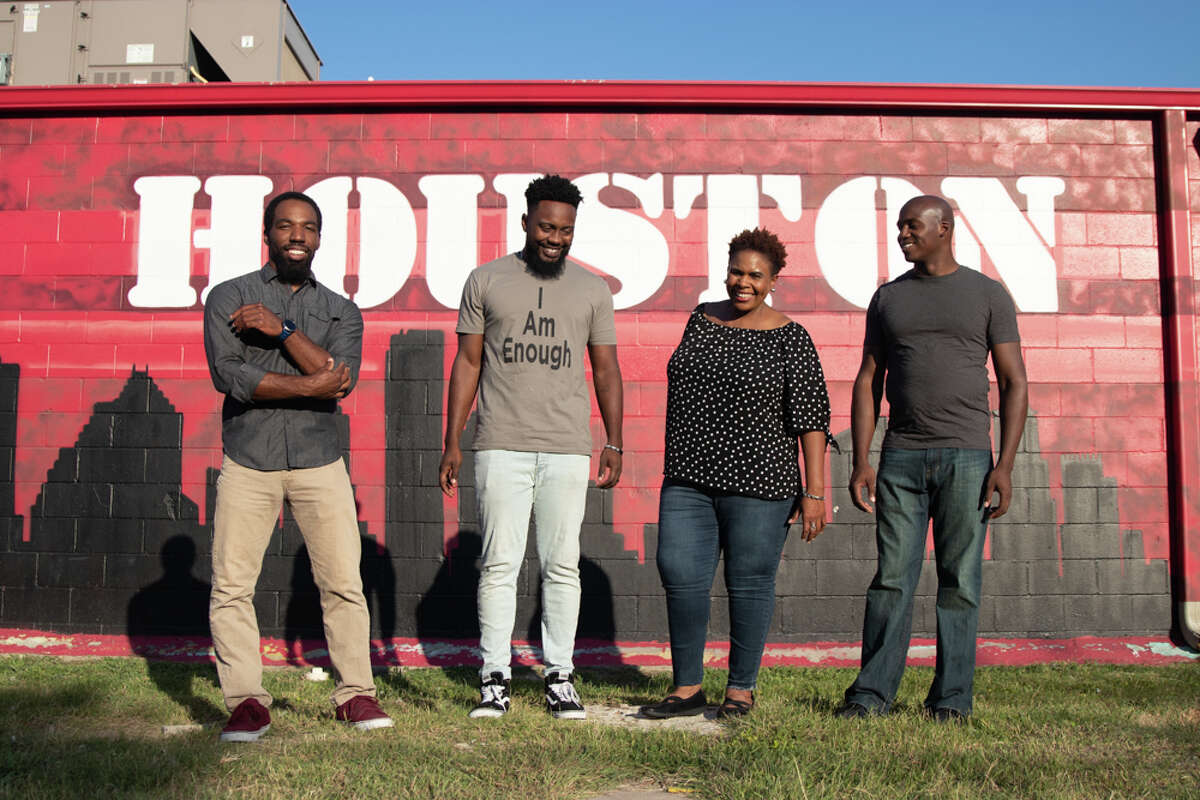 Members of the Houston improv troupe Can't Tell Us Nothing