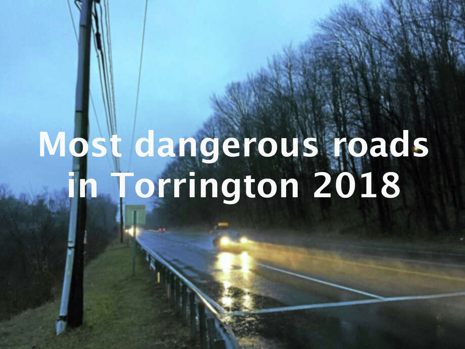 >>Click through to see which roads are the most dangerous in Torrington. Source: UConn Connecticut Crash Data Repository Photo: Ben Lambert, The Register Citizen