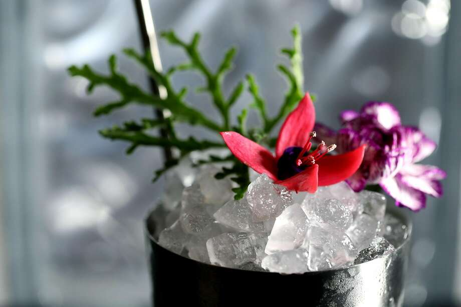 Ayala's refreshing Vermouth Julep ($12) showcases a Calistoga vermouth. Photo: Yalonda M. James / The Chronicle