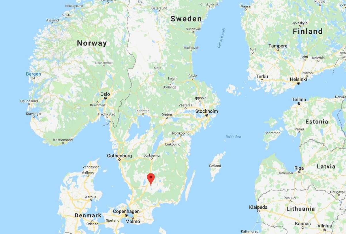 2. The name 'Ikea' comes from his initials Ikea takes the initials of Kamprad's first and last names, as well as Agunnaryd, his village in Sweden (above) and the name of his farm, Elmtaryd.