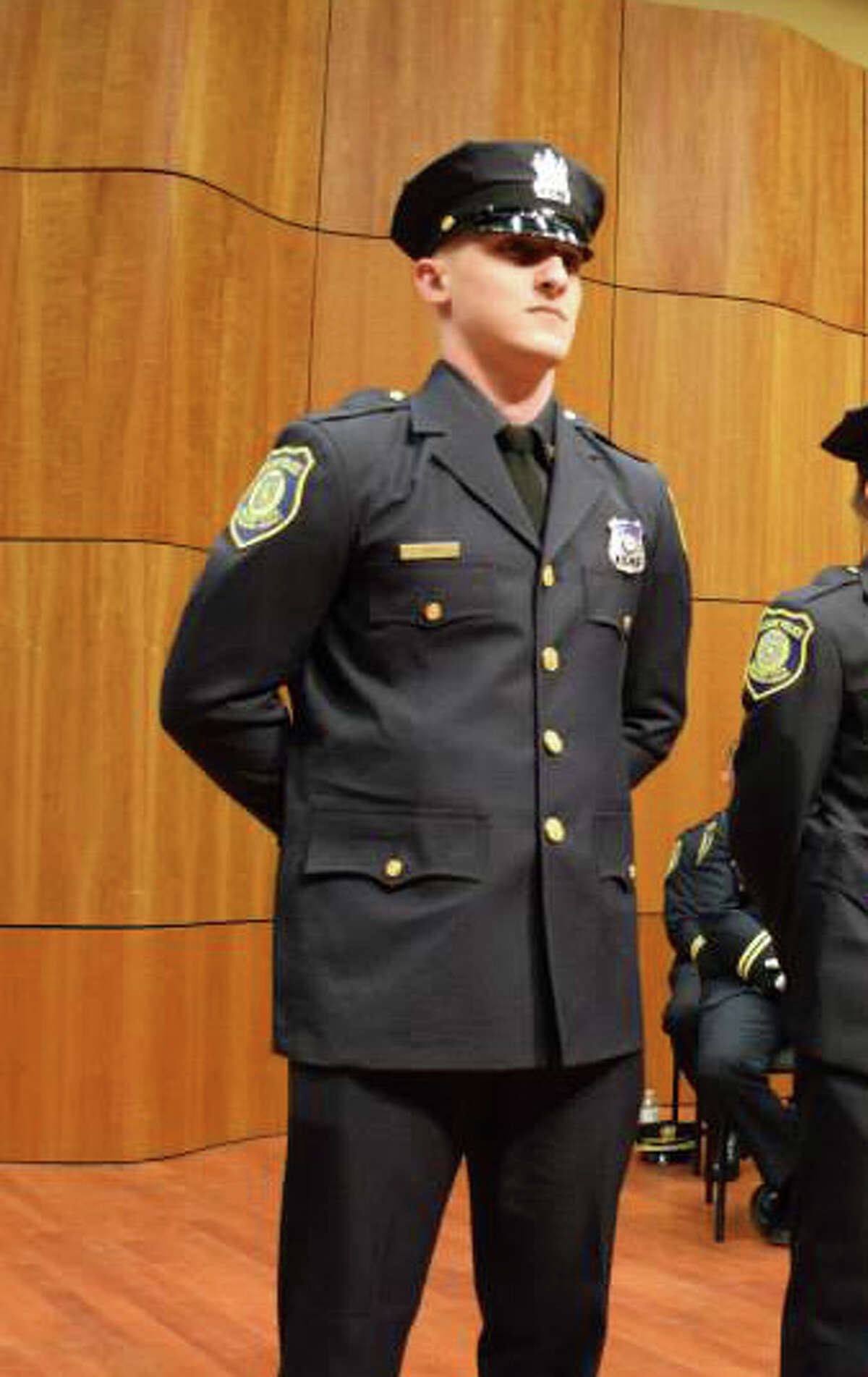 Albany police Officer Christopher KItto was