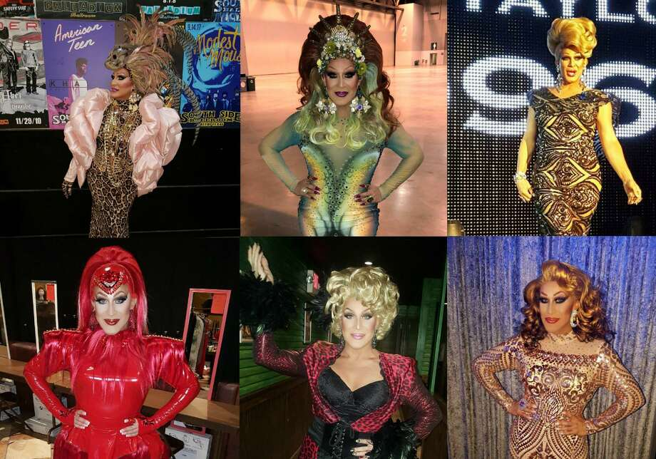 Lauren Taylor, the stage name of Darrell Cantu, began singing and entertaining audiences in Corpus Christi in 1988 and is a longtime member of Houston's drag community. The former Miss Gay America, Miss Gay Texas America and Miss Gay USofA will be at Rumors Beaumont Saturday night, promising a Whitney Houston dance mix and music from more contemporary artists such as Beyonce. Photo: Photos Provided By Darrell Cantu