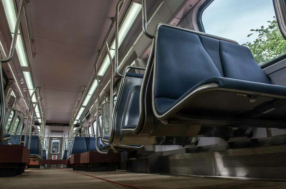 Metro tests out its 7000-series subway cars in 2014 at the Shady Grove station in Rockville, Md. Photo: Washington Post Photo By Bill O'Leary / The Washington Post