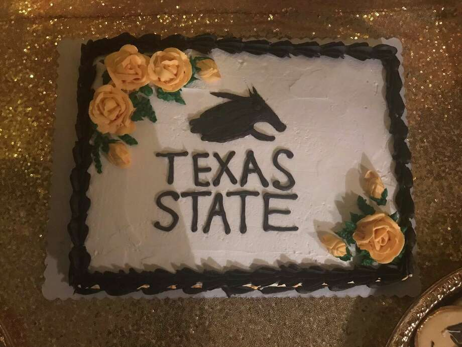 "Graduating TXST student receives botched Bobcat cakeSome online commenters compared what was supposed to be Boko the Bobcat on the graduation cake for Lucero Ibarra to a ""chupacabra"" or Pumba from the ""Lion King"" movie. Read the full story here.  Photo: Courtesy,  Lucero Ibarra"