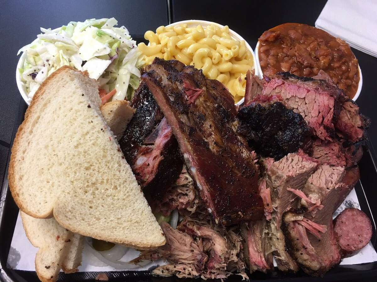 Kat's Barbecue 3805 FM 646 Road North, Santa Fe832-221-6418 Kat's is known for its by-the-pound barbecue menu of brisket, ribs, sausage, pulled pork and chopped beef.