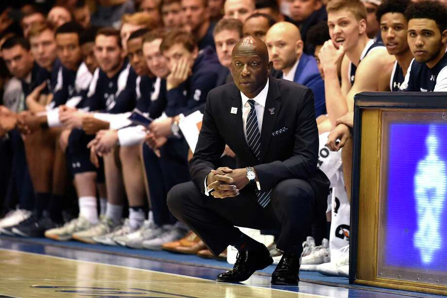 Yale men's basketball coach James Jones was the recipient of the Polly Sweeten Excellence in Sports Award at the 11th Annual Farnam Community Sports Celebrity Breakfast on Monday morning. Photo: Getty Images File Photo / 2018 Getty Images