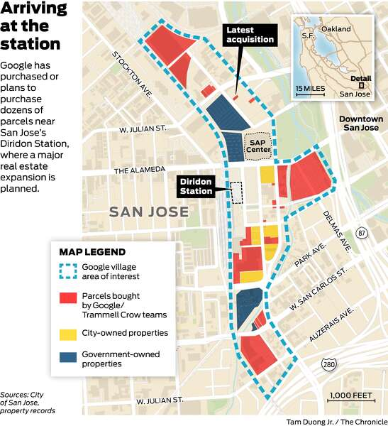 Google Transformed Mountain View Is San Jose Next Sfchronicle Com