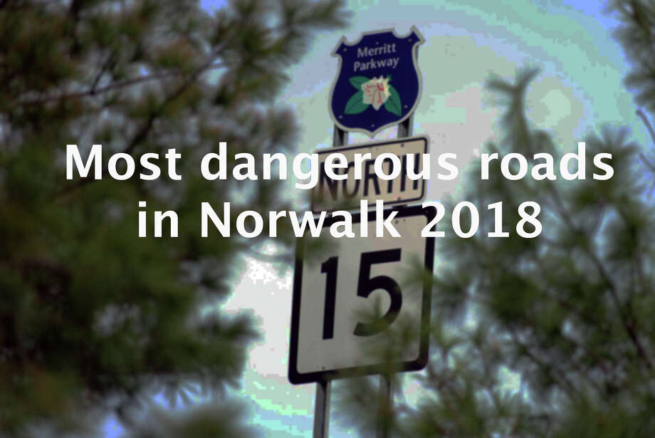 >>Click through to see which roads are the most dangerous in Norwalk.