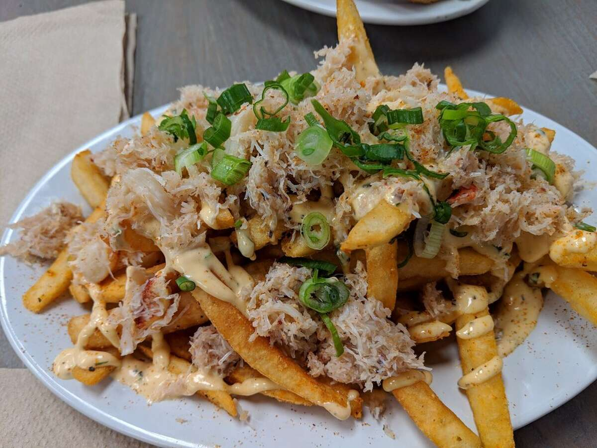 Crab fries served at Southern Comfort Kitchen. Click on the slideshow ahead to find the tastiest fries around the Bay Area, according to Yelp >>>