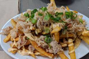 Crab fries served at Southern Comfort Kitchen.
