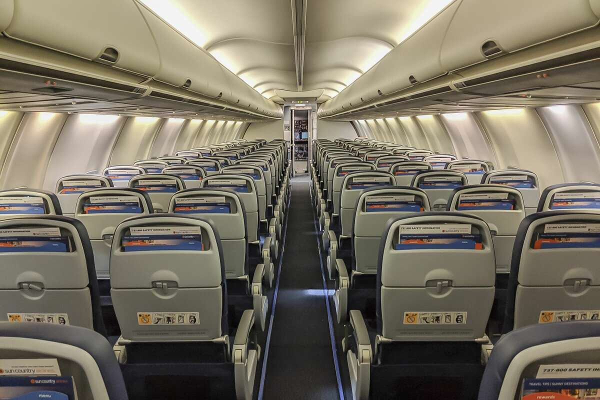 Economy class seating on Sun Country's 737-800 jets comes in three flavors: Best, Better and Standard.