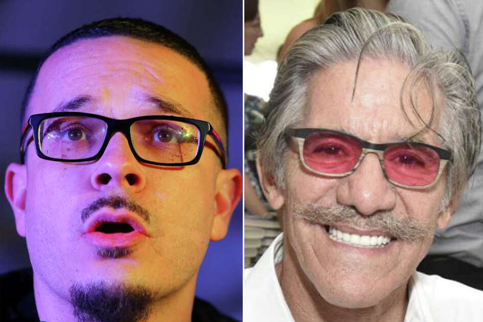 Shaun King And Geraldo Rivera Are Pictured In This Composite Photo