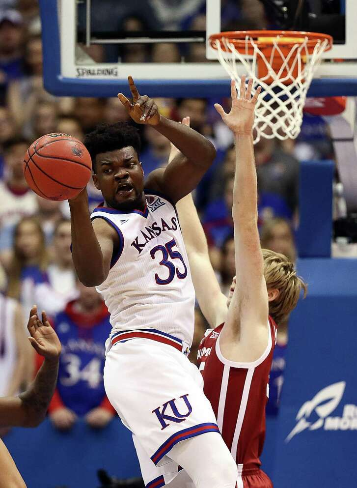 The loss of Udoka Azubuike to a season-ending injury is one of the reasons Big 12 rivals see a chance to end Kansas' run of league titles at 14.
