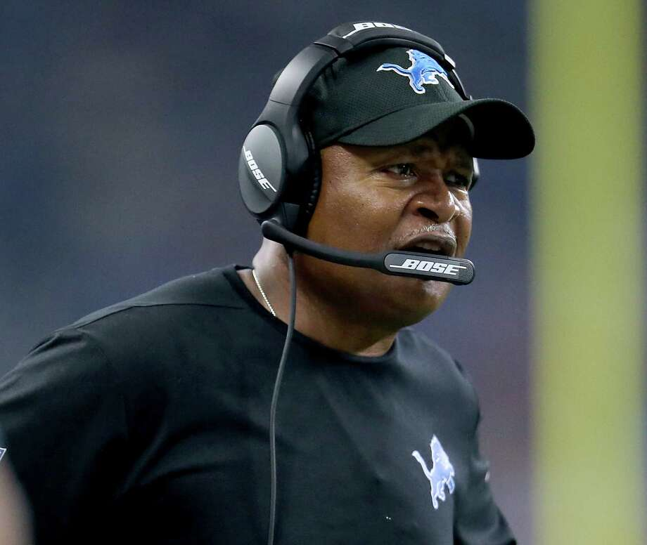 DETROIT, MI - SEPTEMBER 24: Head coach Jim Caldwell of the Detroit Lions watches his team against the Atlanta Falcons at Ford Field on September 24, 2017 in Detroit, Michigan. (Photo by Rey Del Rio/Getty Images) ORG XMIT: 700070630 Photo: Rey Del Rio / 2017 Getty Images